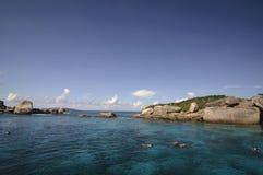 Similan海岛,安达曼海,泰国 免版税库存图片