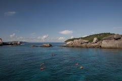 Similan海岛,安达曼海,泰国 免版税图库摄影