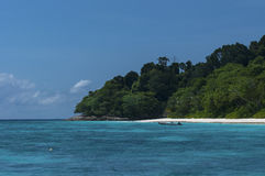 Similan海岛,安达曼海, Similan海岛,泰国 库存图片