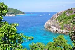 Similan海岛,泰国 免版税库存照片