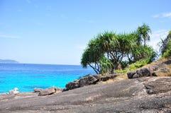Similan海岛,泰国 图库摄影