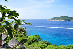 Similan海岛,泰国 库存照片