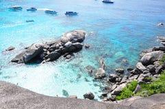 Similan海岛,泰国 库存图片