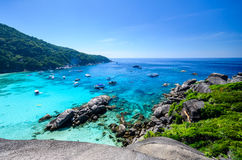 Similan海岛 免版税库存图片