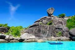 Similan海岛 免版税库存照片