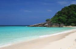similan的海岛 海景 库存照片