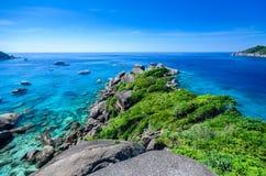 similan的海岛 免版税图库摄影