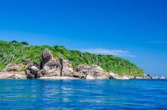 similan的海岛 图库摄影