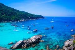 similan的海岛 免版税库存照片