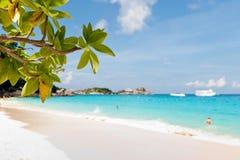 similan öar Royaltyfri Foto