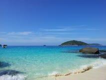 similan öar Arkivbilder