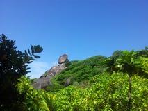similan öar Arkivfoton