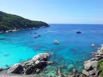 similan öar Royaltyfria Bilder