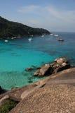 Similan öar, Thailand, Phuket Arkivfoto
