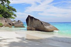 Similan-Inseln, Andaman-Meer, Thailand Stockfotos