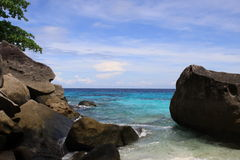 Similan island. Amazing beach Stock Photography