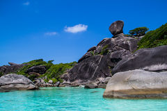 Similan island Royalty Free Stock Photos