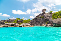 Similan island Royalty Free Stock Photo