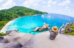 Similan island Royalty Free Stock Photo