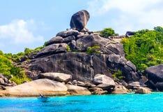 Similan Island, Thailand. Similan island, national park, Andaman sea, Thailand royalty free stock image
