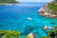 Similan Islands. Paradise Bay, Thailand Stock Photos