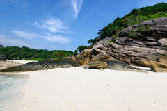 Similan islands, Andaman Sea Royalty Free Stock Images