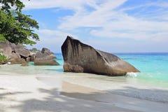 Similan Islands, Andaman Sea, Thailand. Tropical beach on the Similan Islands, Andaman Sea, Thailand Stock Photos