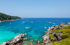 Similan islands beach sea Royalty Free Stock Image