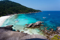 Similan islands beach sea Stock Photography