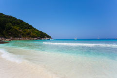 Similan islands beach sea Royalty Free Stock Images