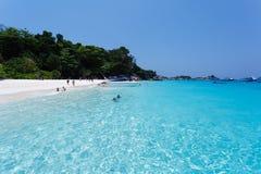Similan islands beach sea Stock Photography