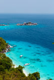 Similan islands beach sea Royalty Free Stock Photos