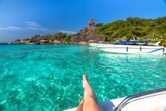 Similan Islands Lagoon Stock Images