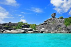 Similan Islands Stock Image
