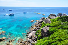 Similan Islands Paradise Bay Royalty Free Stock Photography