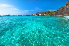 Similan Islands Sail Rock Stock Photos