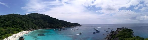 Similan Islands royalty free stock photography