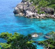 Similan Islands, Thailand. View of beach in the Similan Islands, Thailand Royalty Free Stock Images