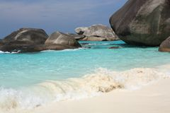 Similan islands, Thailand Royalty Free Stock Photos