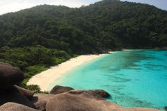Similan islands, Thailand Royalty Free Stock Images