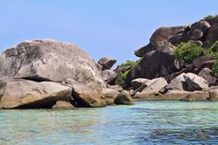 The Similan Islands in Thailand Stock Photography