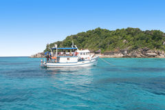 Similan Islands in Thailand. Stock Images