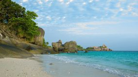 Similan Islands, Thailand, beach stock video