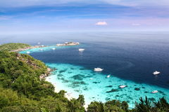 Similan Islands, Thailand. Similan Islands is a beautiful island, clear water, friendly people Stock Photography