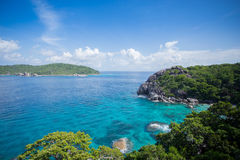 Similan. Islands in Thailand. The islands is most beautiful and clear water. It is a popular tourist destination stock image