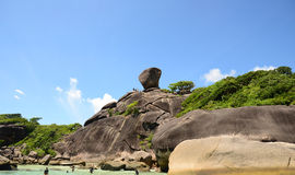 SIMILAN ISLANDS, THAILAND - MAY, 3 Royalty Free Stock Photography