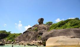SIMILAN ISLANDS, THAILAND - MAY, 3 Royalty Free Stock Photography