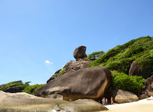 SIMILAN ISLANDS, THAILAND - MAY, 3 Stock Image