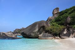 Similan islands, Thailand, Phuket Stock Photography