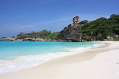 Similan islands, Thailand, Phuket Royalty Free Stock Images